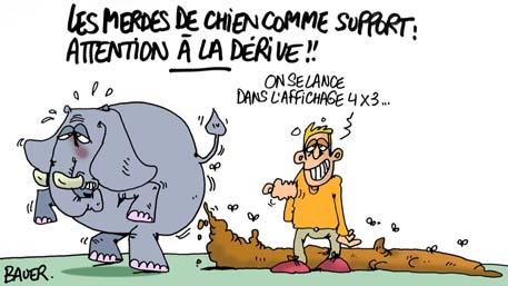 Les Crottes De Chiens Au Service Du Non L Accroche Le Journal